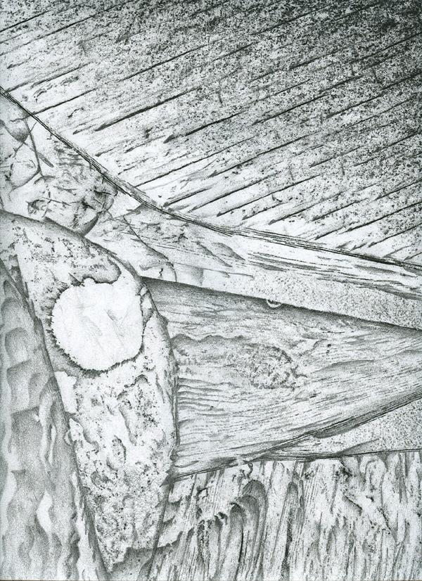 Surrealist Frottage/Drawing | Roger Clark Miller