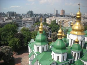 Kiev, Ukraine.  May, 2013.