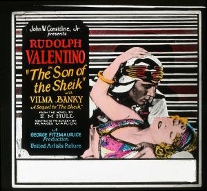 Original Poster for Son of the Sheik.
