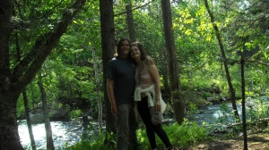 Deb and I in the Northeast Kingdom of VT.