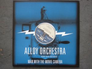Double LP of MAN WITH THE MOVIE CAMERA that we recorded live at Third Man in Nashville a couple years back.