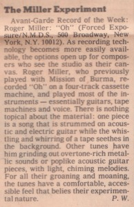 1989 N.Y.Times review of Oh.